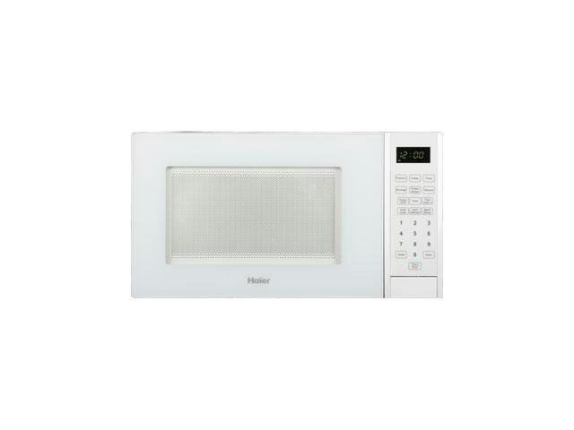 Haier 0.9 Cu. Ft. 900 Watt Microwave - Single - 0.90 ft_ Main Oven - 10 Power Levels - 900 W Microwave Power - 10.63
