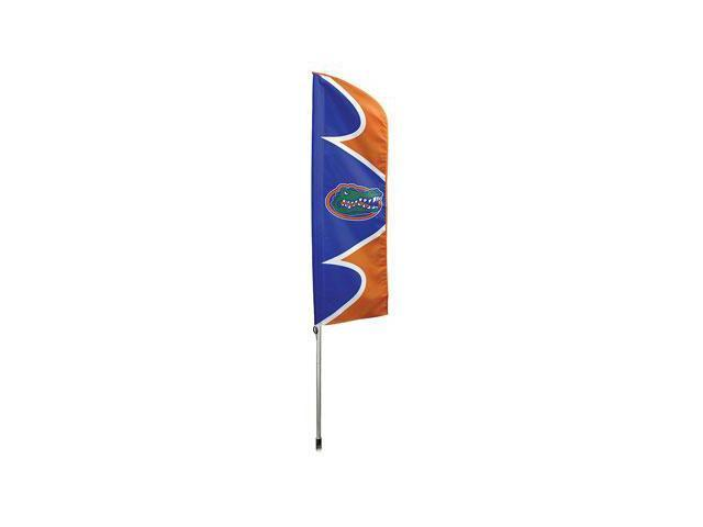"Party Animal Florida Swooper Flag Kit - United States - 42"" x 13"" - Durable, Weather Resistant, UV Resistant, Lightweight, ..."