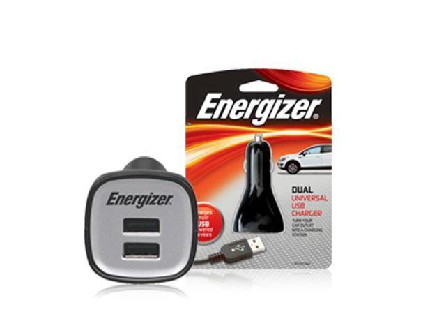 Energizer PC-2CA Dual USB Car Charger 2 USB Ports Output DC5V x 2