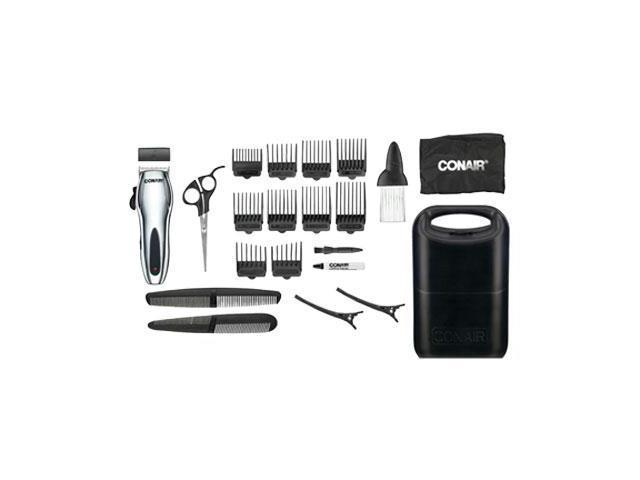 Conair HC318RV  22-Piece Cord/Cordless Rechargeable Haircut Kit, 1 set
