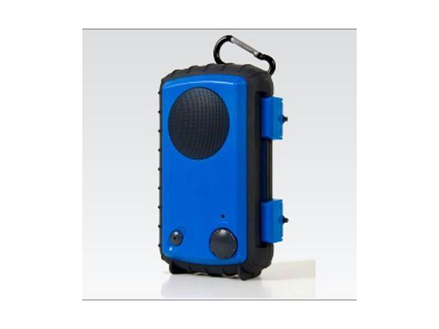 Grace Digital ECOXGEAR Eco Extreme GDI-AQCSE102 Rugged Waterproof Case with Built-in Speaker for Smartphones (Blue) - Grace ...