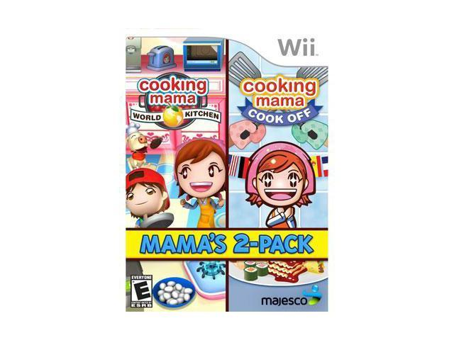 Cooking Mama 2 Pack Wii