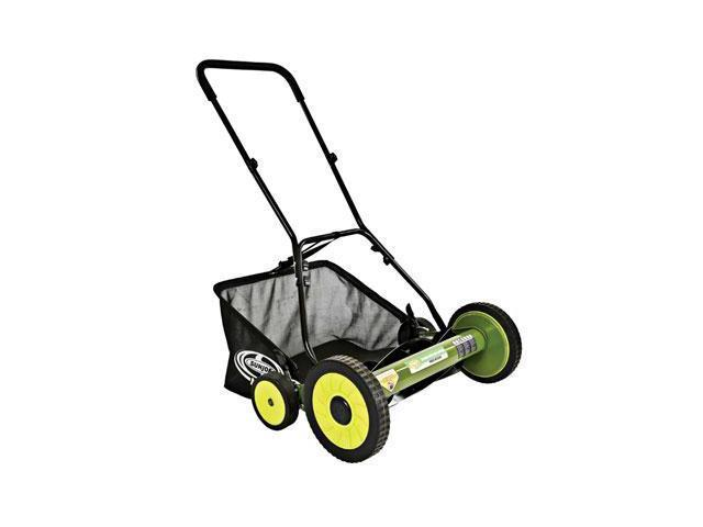 Sun Joe Mow Joe 20-IN Manual Reel Mower with Grass Catcher - MJ502M - 20