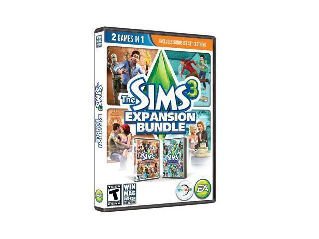 Sims 3 Expansion Bundle  PC
