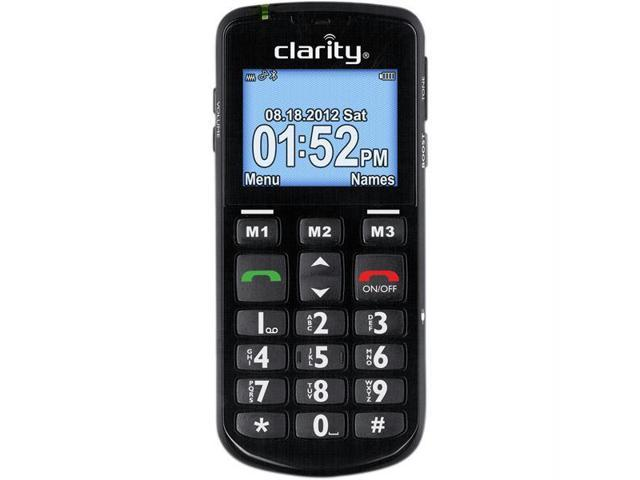 Clarity PAL Black Amplified Mobile Phone