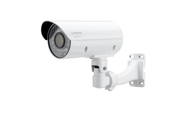 LINKSYS LCAB03VLNOD 1080p 3MP Night Vision Outdoor Bullet Camera for Business