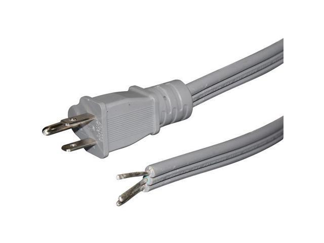PETRA PET15-0343ST Flat Appliance Power Cord (3ft)