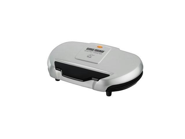 George Foreman Grand Champ GR144 Electric Grill - 133 Sq. inch. Cooking Area - Silver
