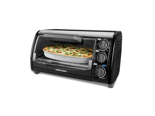 BD 4 Slice Toaster Oven Bllk