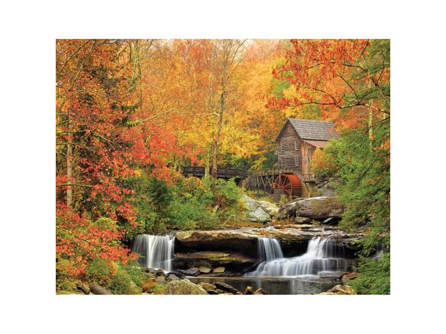 Old Grist Mill 1000 Piece Puzzle by White Mountain Puzzles