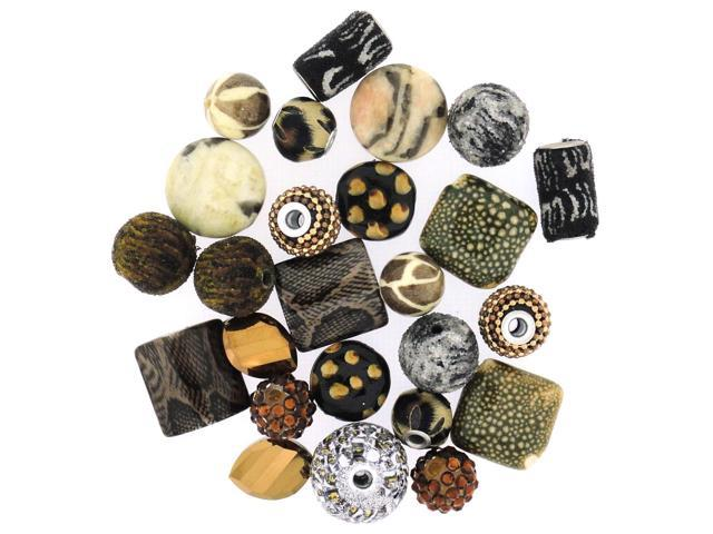 Inspirations Beads 50 Grams-Wild Side