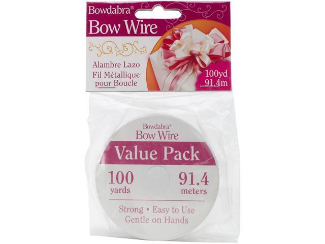 Bowdabra Bow Wire 100Yd-Silver