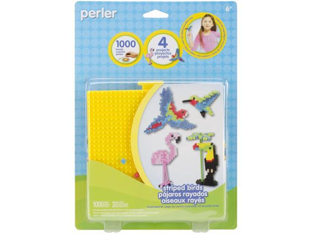 Perler Fused Bead Kit-Striped Birds