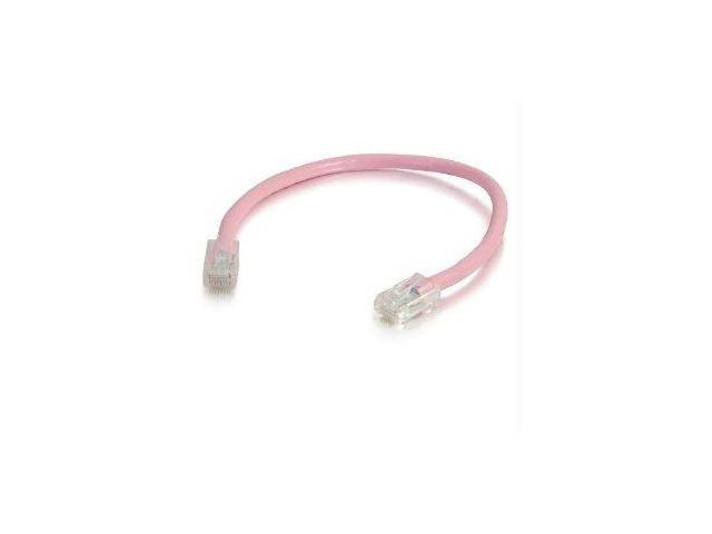 C2G 00629 Cat5e Cable - Non-Booted Unshielded Ethernet Network Patch Cable, Pink (15 Feet, 4.57 Meters)