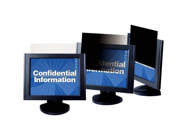 3M PF22.0W Privacy Filter for Widescreen Desktop LCD Monitors Black - For 22