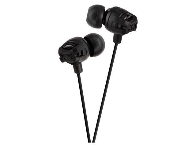 JVC America HAFR201B In-ear headphones w/mic black