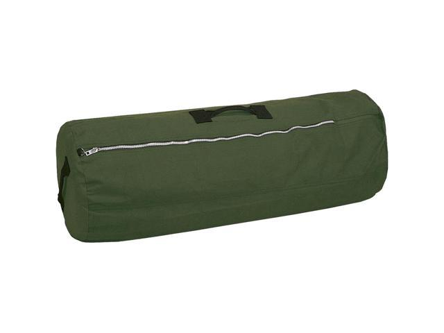 Stansport DELUXE Carrying Case (Duffel) for Travel Essential - Olive Drab - Cotton Canvas - Handle x 36