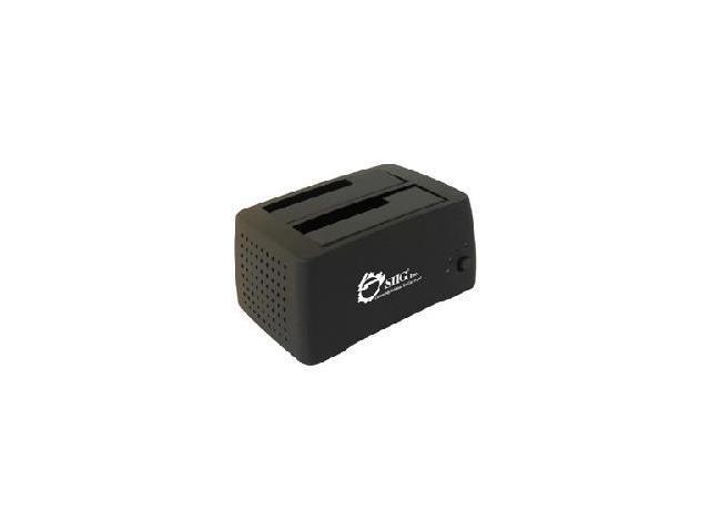 SIIG SC-SA0412-S1 USB 2.0 DUAL BAY DOCKING