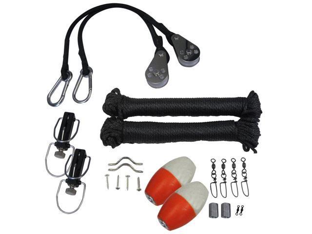 TACO Premium Rigging Kit Black f-1 Pair Outriggers