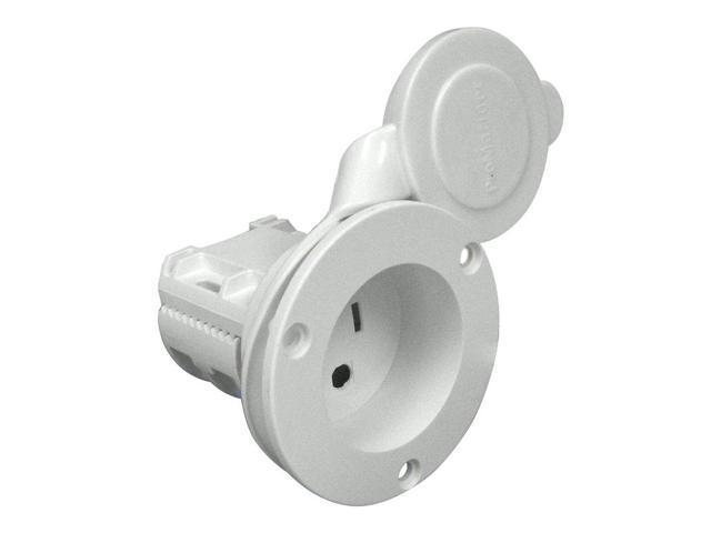 ProMariner AC Plug Holder - White