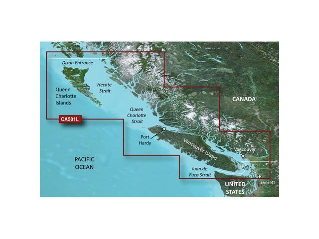 Garmin VCA501L - Vancouver Is.-Dixon Entrance