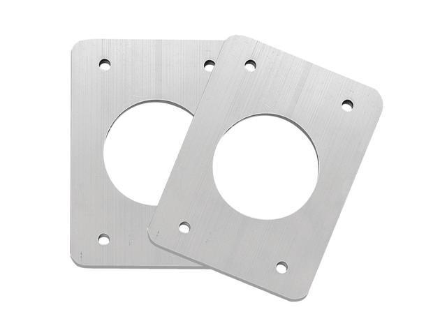 TACO Backing Plates f/Grand Slam Outriggers - Anodized Aluminum