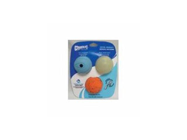 Fetch Medley Balls 2.5 In 3Pk Assorted Dog Toy