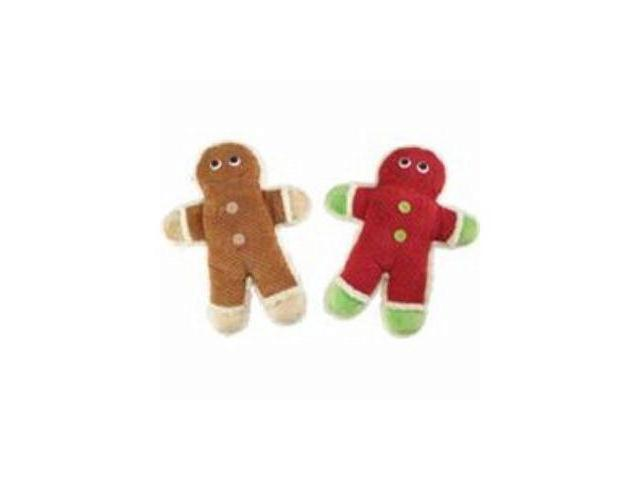 Ethical Dog Cat Toys Holiday Plush Ginger Cookies