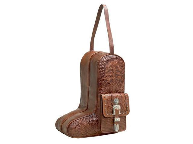 American West Leather Boot Bag
