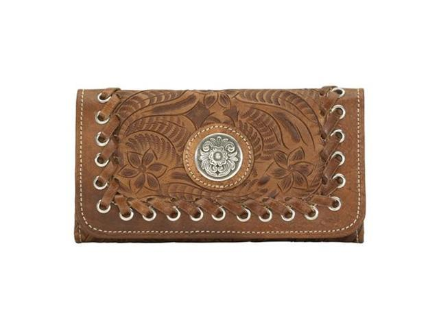 American West LadiesTri Fold Wallet