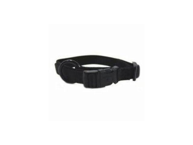 Hamilton Pet Company Adjustable Dog Collar, Black, 5/8 X 12-18 - FAS 12/18 BK