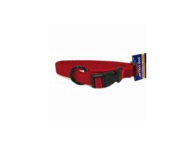 Hamilton Pet Company Adjustable Dog Collar, Red, 3/4 X 16-22 - FAM 16/22 RD