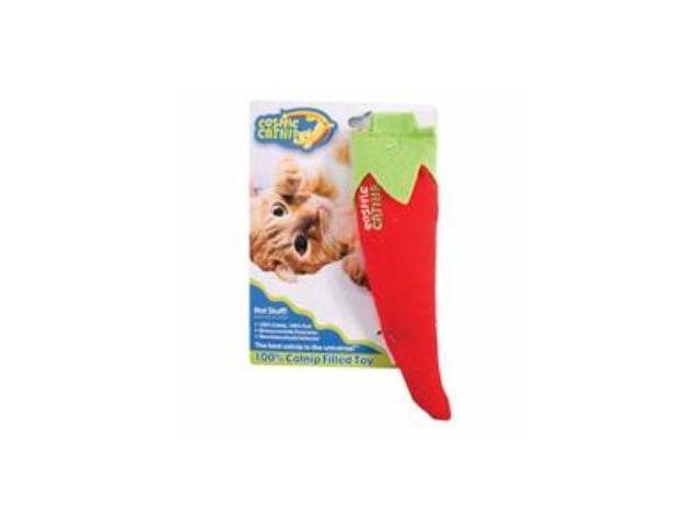Ourpets Company Cosmic 100% Catnip Filled Toy, Chili Pepper - 1050011545