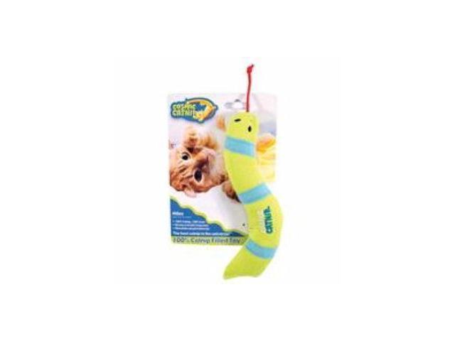 Ourpets Company Cosmic 100% Catnip Filled Toy, Snake - 1050011550