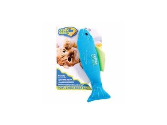Ourpets Company Cosmic 100% Catnip Filled Toy, Fish Anette - 1050011546