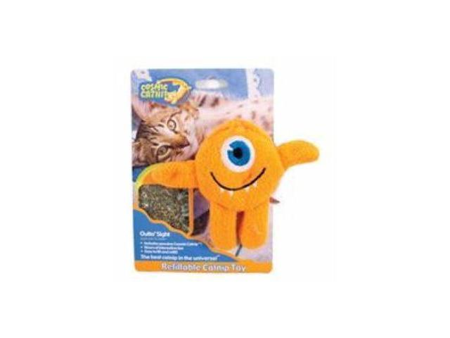 Ourpets Company Cosmic Refillable Catnip Toy, Cyclops - 1050011564
