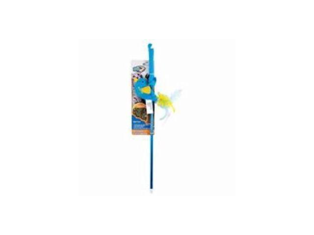 Ourpets Company Cosmic Refillable Catnip Wand, Bird - 1050011511