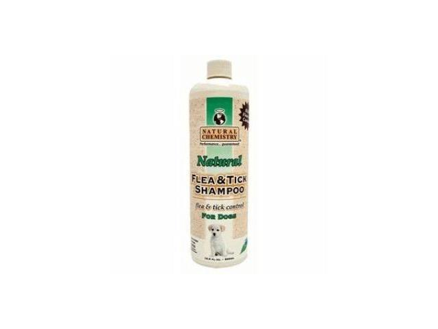 Natural Chemistry Natural Flea & Tick Shampoo, 16 Ounce - 11000