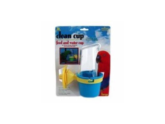 JW Pet Clean Cup Feed And Water Cup, Large - 31311