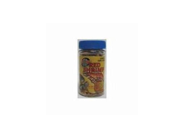 Zoo Med Aquariam Large Sun-Dried Red Shrimp .5Oz