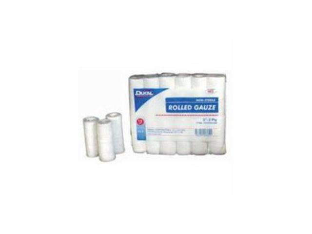 Horse Dukal Ns Rolled Gauze 3In 2Pl 12Pk 8