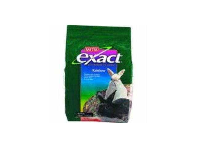 Kaytee Products Inc Exact Rainbow Rabbit, 4 Pound - 100032413