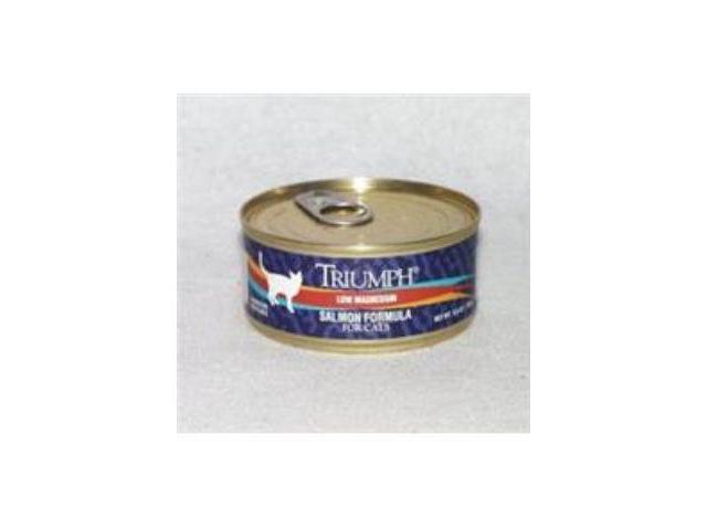 Triumph Pet 323 Cat Food Salmon 5.5Oz 24 pack