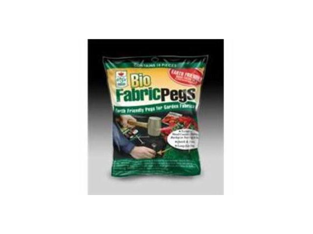 Bio Fabric Pegs 10Pkg EASY GARDENER Landscaping Fabric/Weed Block 809
