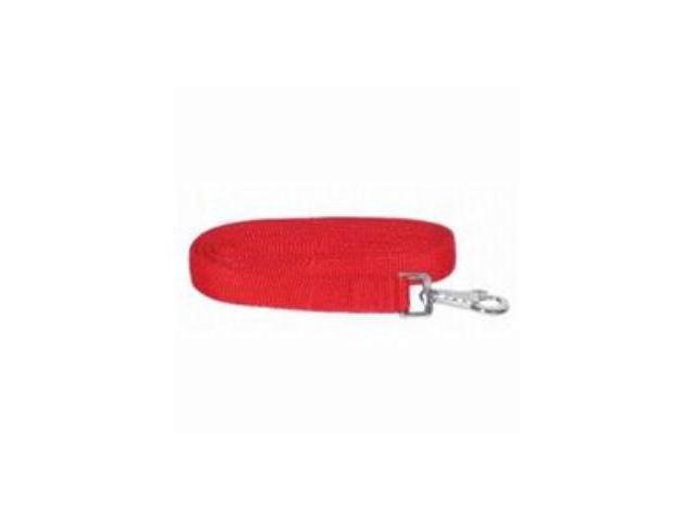 Gatsby Leather Nylon Lead With Snap Red