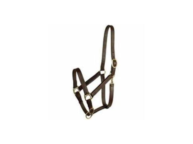 Halter - Leather Halter Stable With Snap Large