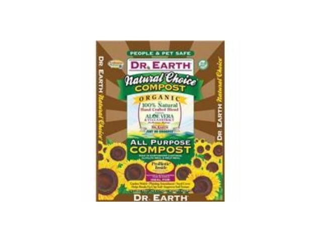 Dr. Earth Natural Choice Compost Mix 1.5 Cubic Feet