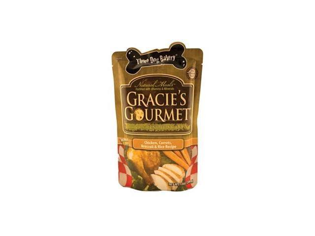Gracies Gourmet Ready-To-Eat Entree For Dogs Chicken Carrots 12 Oz