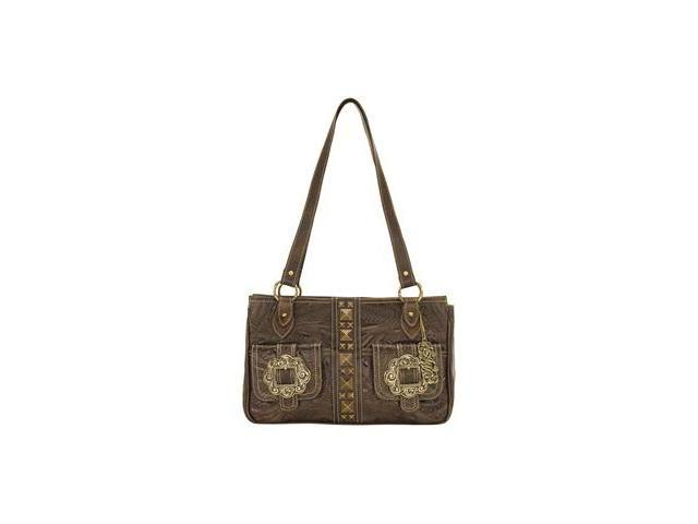American West 3 Compartment zip-top tote