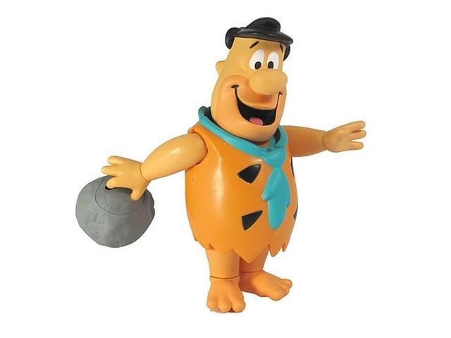 Fred Flintstone with Bowling Action Hanna-Barbera 6 Inch Action Figure